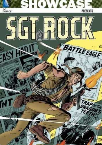 Okładka książki Showcase Presents: Sgt. Rock Volume 4