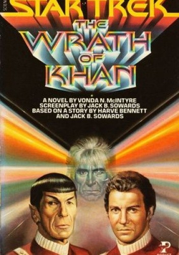 Okładka książki Star Trek: The Wrath of Khan