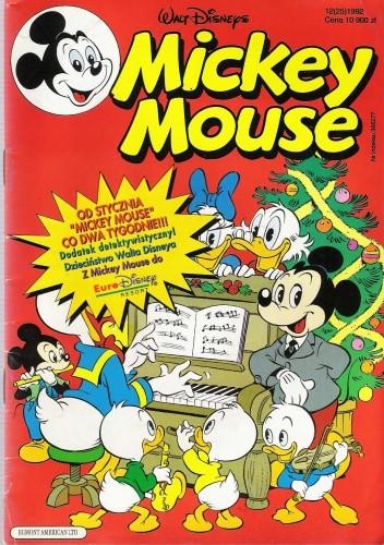 Okładka książki Mickey Mouse 12/1992