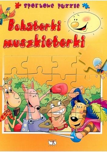 Okładka książki Bohaterki muszkieterki