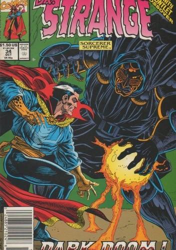 Okładka książki Doctor Strange: Dark Doom