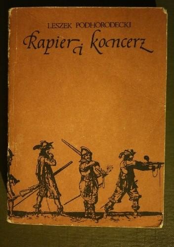 Okładka książki Rapier i koncerz