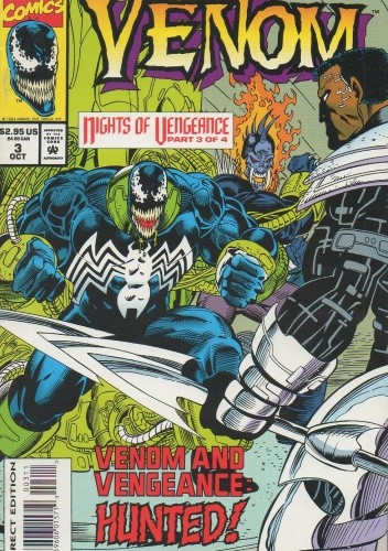 Okładka książki Venom Nights of Vengeance: The Hunt
