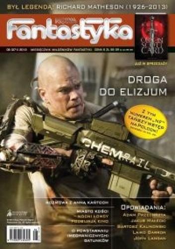 Okładka książki Nowa Fantastyka 371 (08/2013)