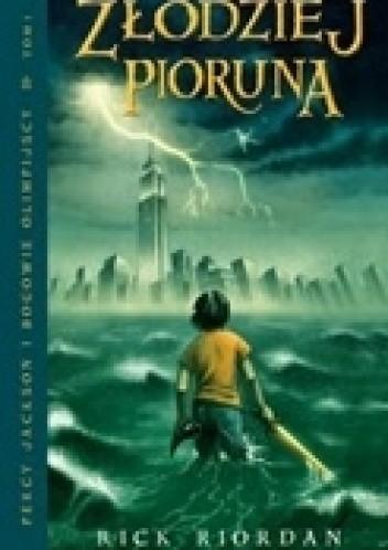 Okładka książki Percy Jackson i bogowie olimpijscy: złodziej pioruna