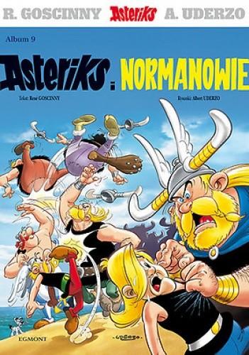 Okładka książki Asteriks i Normanowie
