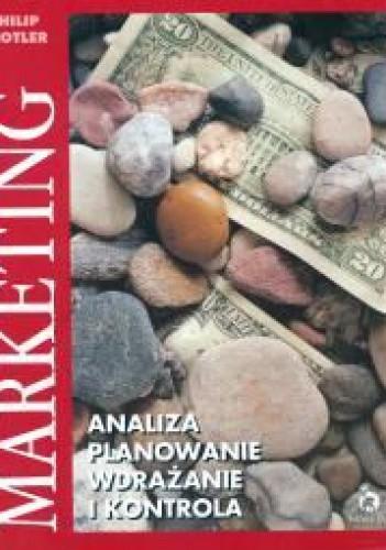 Okładka książki Marketing - analiza, planowanie, wdrażanie i kontrola