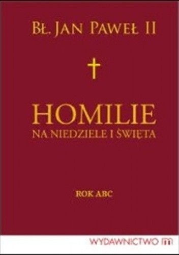 Okładka książki Homilie na niedziele i święta. Rok ABC