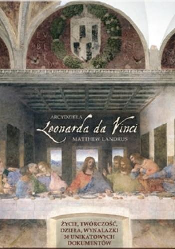 Okładka książki Arcydzieła Leonarda da Vinci