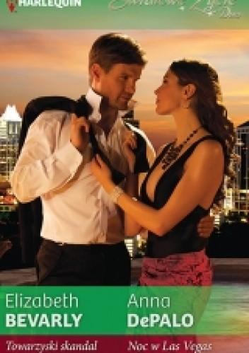 Okładka książki Towarzyski skandal, Noc w Las Vegas