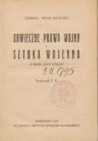 Odwieczne prawa wojny i Sztuka wojenna z przed 23-ch stuleci