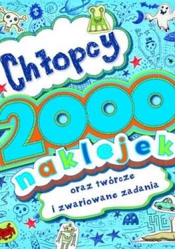 Okładka książki Chłopcy 2000 naklejek