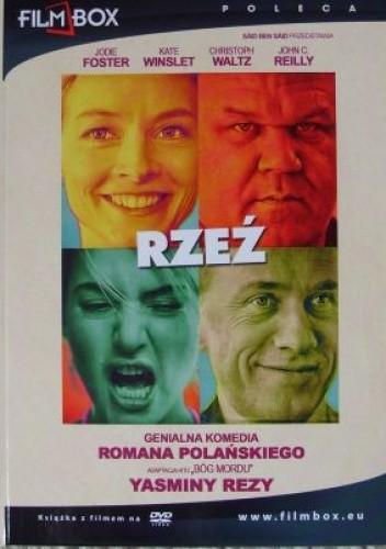 Okładka książki Rzeź (książka + film)