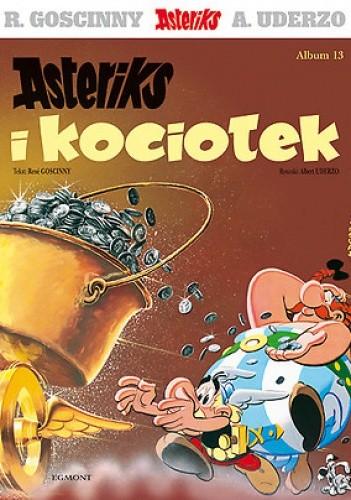 Okładka książki Asteriks i kociołek