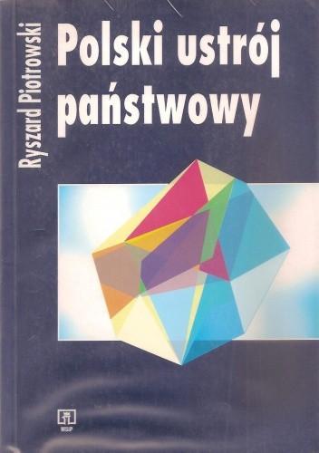 Okładka książki Polski ustrój państwowy