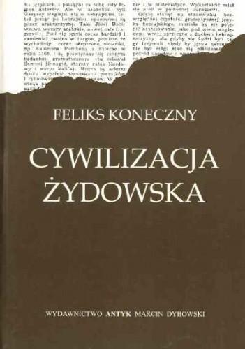 Okładka książki Cywilizacja żydowska