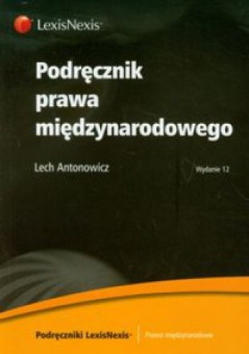 Okładka książki Podręcznik prawa międzynarodowego