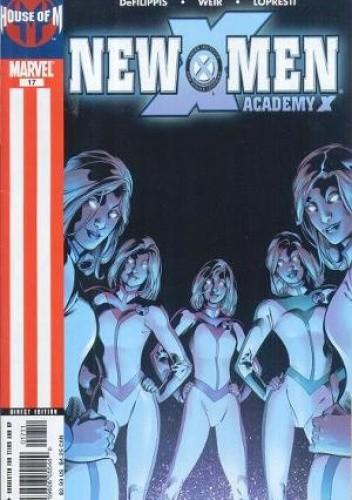 Okładka książki New X-Men vol. 2 #17