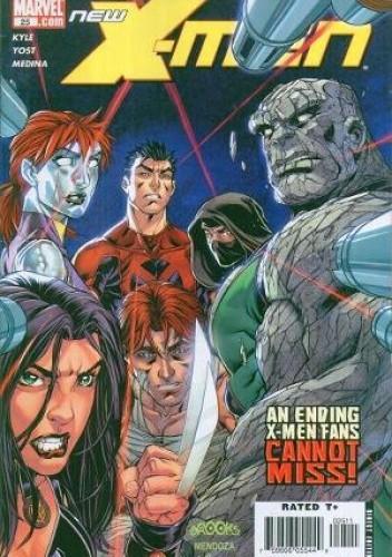 Okładka książki New X-Men vol. 2 #25