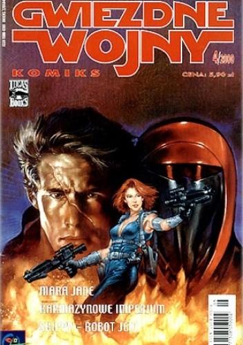 Okładka książki Gwiezdne Wojny Komiks 4/2000