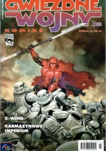 Okładka książki Gwiezdne Wojny Komiks 3/2000