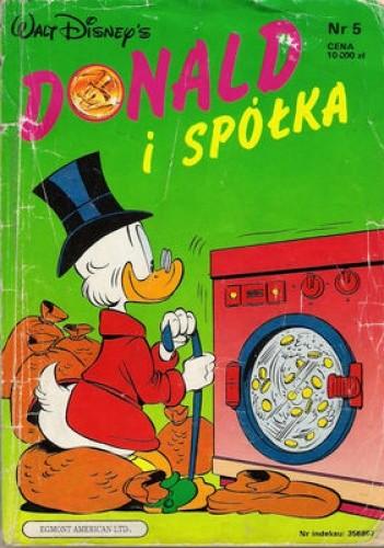 Okładka książki Donald i Spółka Nr. 5