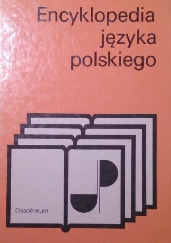 Okładka książki Encyklopedia języka polskiego