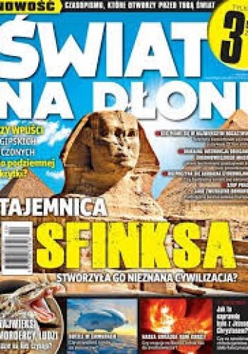 Okładka książki Świat na dłoni 2/2013