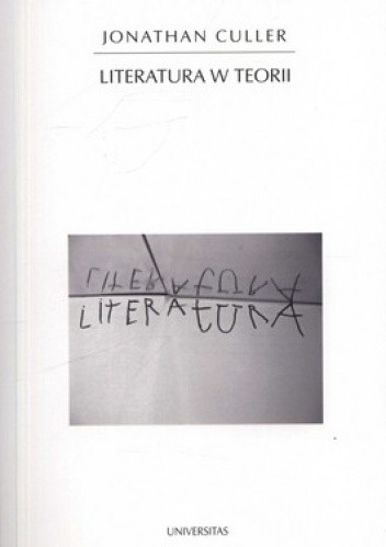 Okładka książki Literatura w teorii