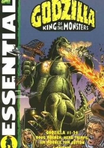 Okładka książki Essential Godzilla: King of the Monsters