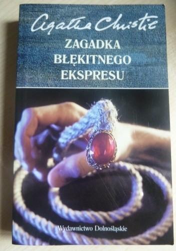 Okładka książki Zagadka Błękitnego Ekspresu