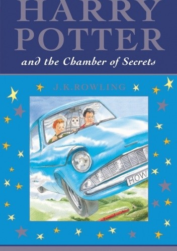 Okładka książki Harry Potter Chamber of Secrets