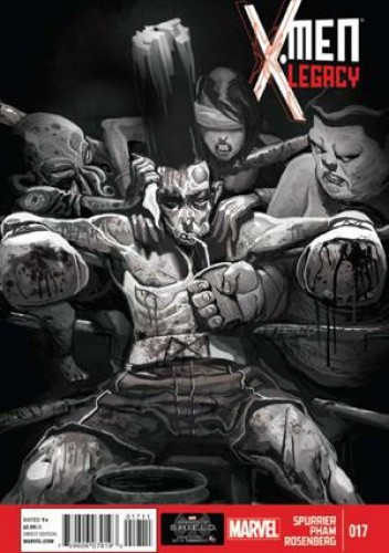 Okładka książki X-Men: Legacy vol. 2 #17