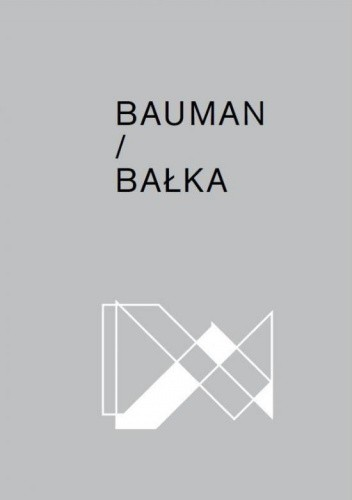 Okładka książki Bauman/Bałka
