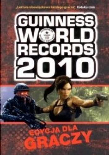 Okładka książki Guinness World Records 2010. Edycja dla graczy
