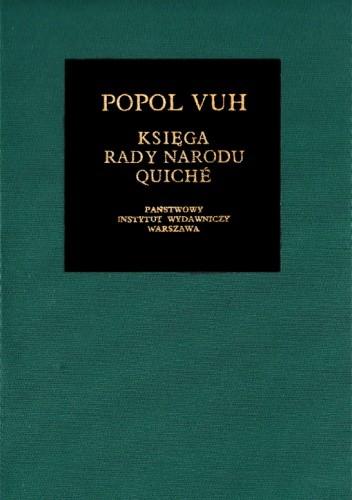 Okładka książki Popol Vuh. Księga Rady Narodu Quiché