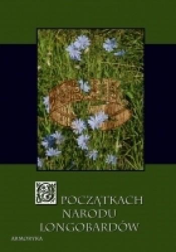 Okładka książki O początkach narodu Longobardów