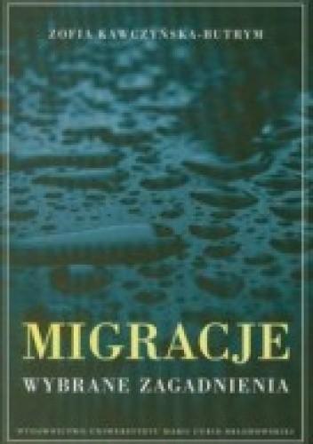 Okładka książki Migracje. Wybrane zagadnienia.
