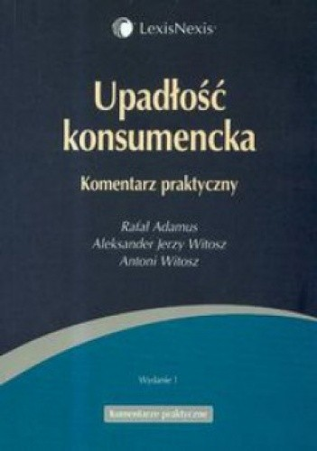Okładka książki Upadłość konsumencka. Komentarz praktyczny