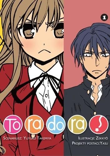 Okładka książki Toradora! #1