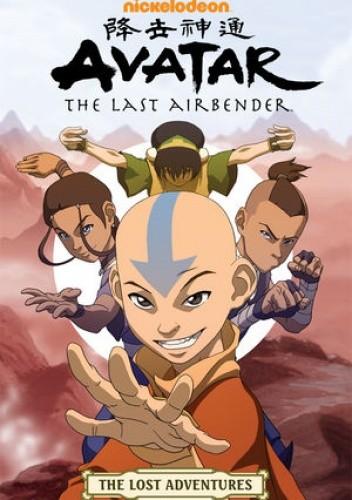 Okładka książki Avatar: The Last Airbender—The Lost Adventures