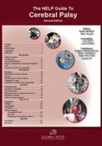 Okładka książki The HELP guide to cerebral palsy