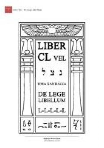 Okładka książki Liber CL. De Lege Libellum