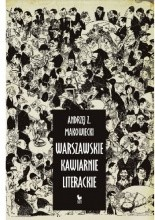 Okładka książki Warszawskie kawiarnie literackie
