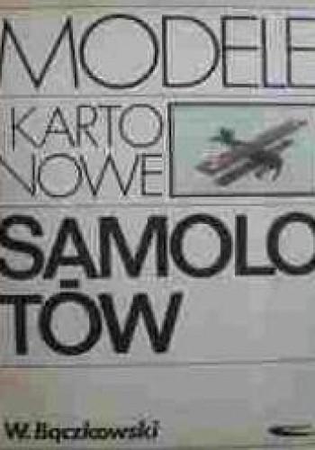 Okładka książki Modele kartonowe samolotów