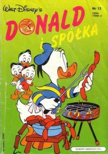 Okładka książki Donald i Spółka nr. 13
