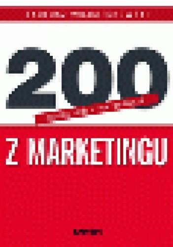 Okładka książki 200 odpowiedzi na pytania z marketingu