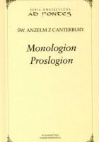 Monologion, Proslogion