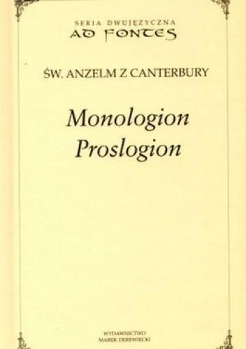 Okładka książki Monologion, Proslogion