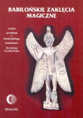 Okładka książki Babilońskie zaklęcia magiczne.